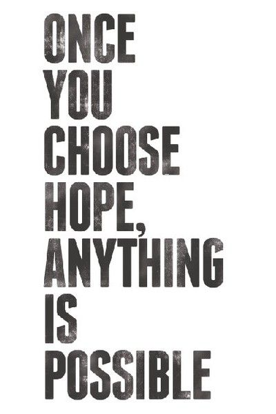 Hope. #quote: