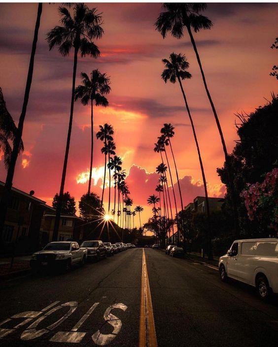 Pin On Photos Sky Aesthetic Sunset Wallpaper California Photos Beautiful los angeles sunset wallpaper