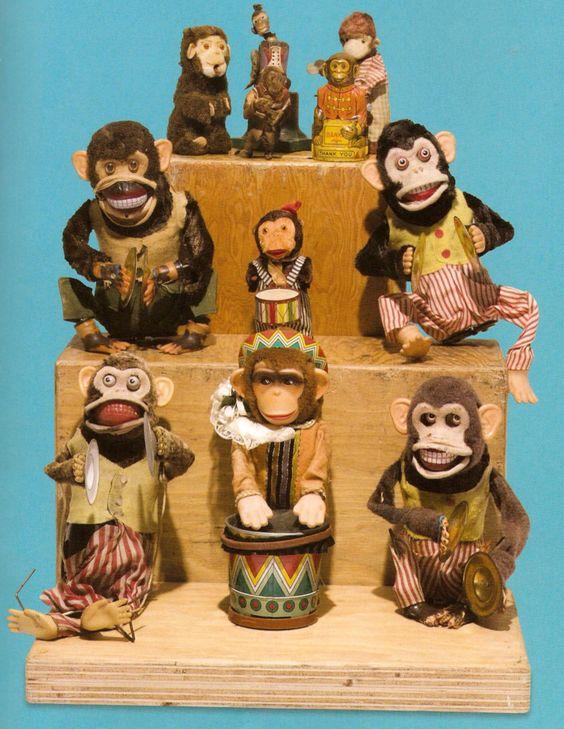 Kurt Cobain (Nirvana) monkey collection: