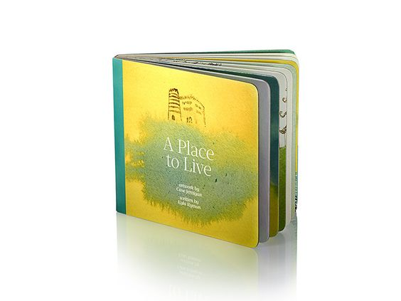 A Place to Live board book | Home Grown Books – Home Grown Books