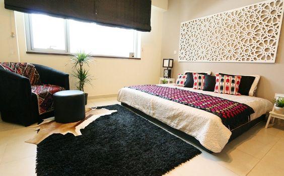Zainab e colorida e contemporânea Dubai Apartamento de Farhan - House Tour | Apartment Therapy