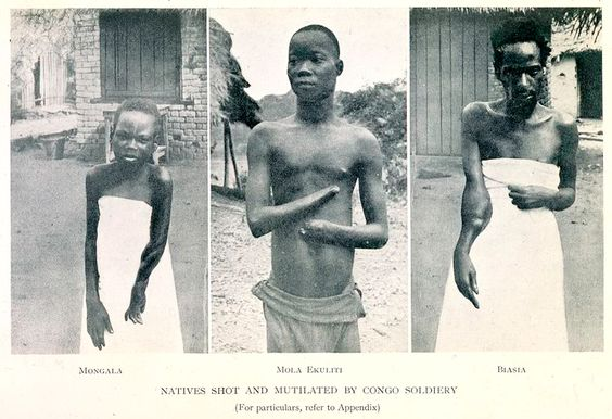 King Leopold II and history of slavery and other attrocities in the Congo for the rubbler plants and elephant tusks - Congo History | Kat's Africa