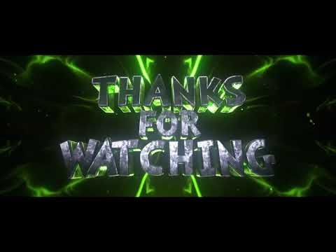 Thanks For Watching Outro Template Youtube Video Design Youtube Youtube Banner Backgrounds First Youtube Video Ideas