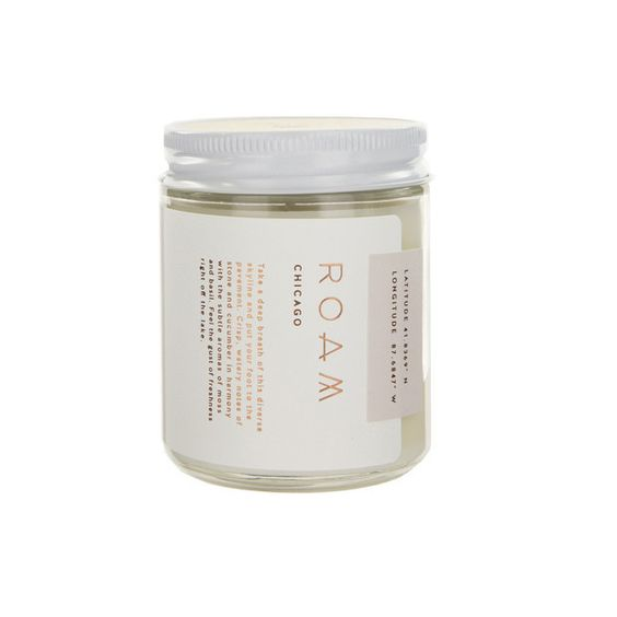 Luxe Chicago Soy Candle - Foursided - Crash Natural Soy Candles