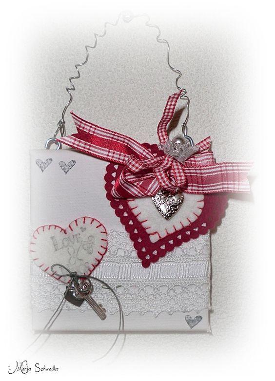 love, handmade by:  Marja Schwedler