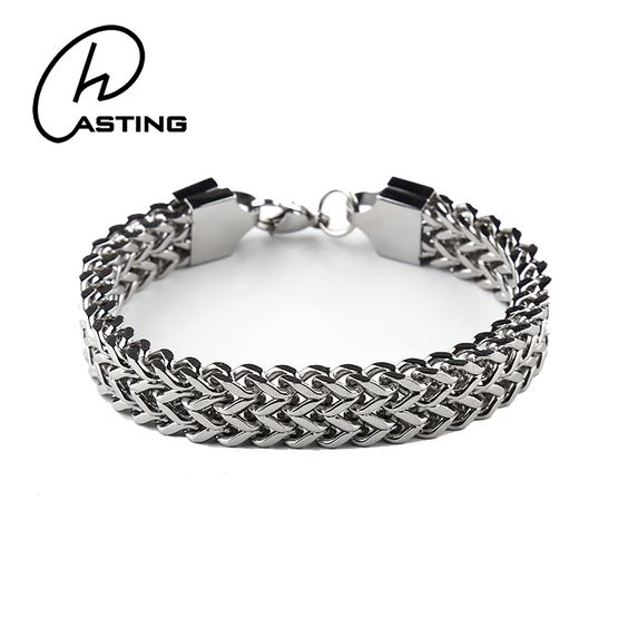 Men\u2019s chain link bracelet