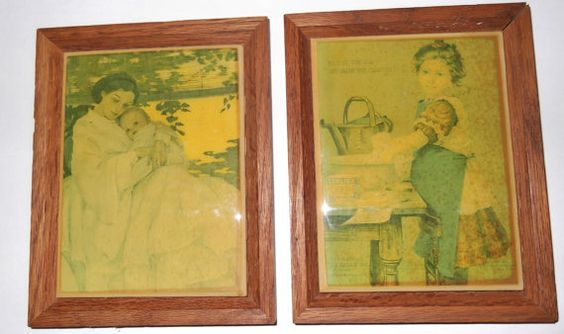 Vintage Art Tiles / Kimberly Enterprises Inc. by SusieSellsVintage, $30.00