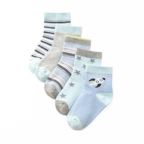 Calcetines Antideslizantes para Beb/é Ni/ñas Wobon 12 Pares para Algod/ón Reci/én Nacido Infantil Ni/ña Calcetines