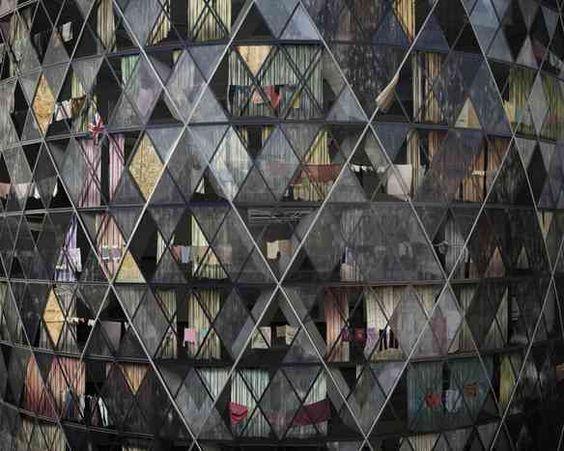 'The Gherkin' London Futures Exhibit