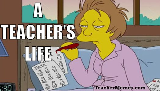 Image result for tired teachers