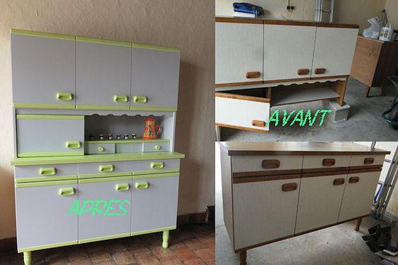 Meuble de cuisine des annee50 instructions de bricolage for Bricolage meuble cuisine