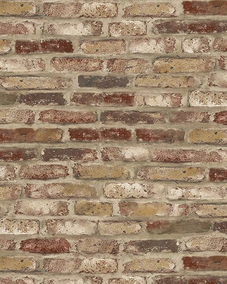 faux brick wallpaper9-#5
