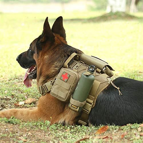 K 9 Tactical Molle Dog Vest Tactical Dog Harness Tactical Dog