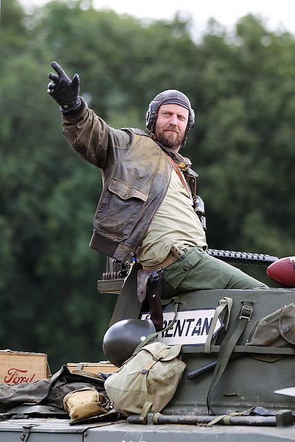 Kelly's Heroes: Oddball on Sherman Tank