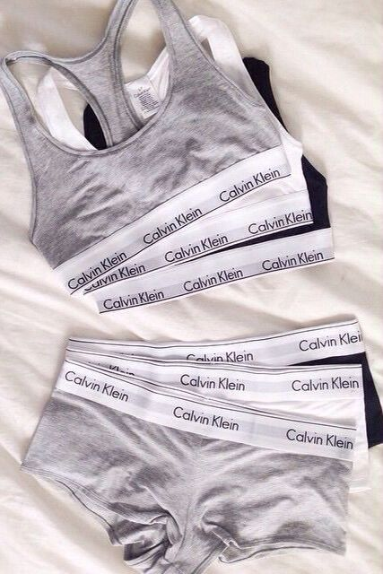 calvin klein modern- like these so much I have pairs in different colors. Not happy that not all colors have a matching bra.