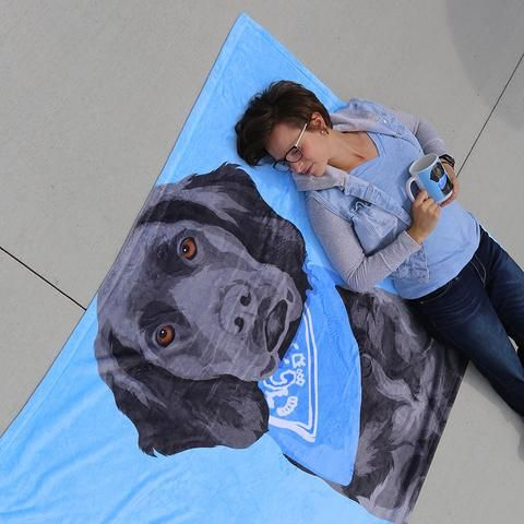 Custom Pet Sherpa Blanket Your Pet Pets Animal Photography