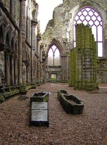 Holyrood Abbey, Scotland: