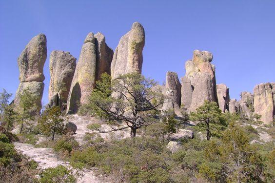 Valle de los Monjes, Creel, Chihuahua, Mexico