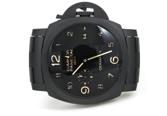 Panerai Tuttonero Luminor 1950 PAM 438 - For Sale - Govberg via Perpetuelle
