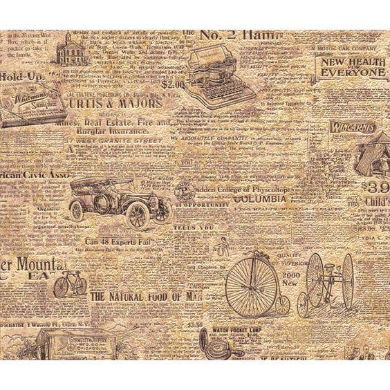 papier peint 820102 rasch papiers peints aqua d 233 co 2013 2013 journal gros titres anglais jauni