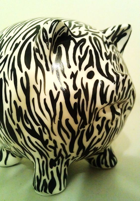 Zebra Piggy