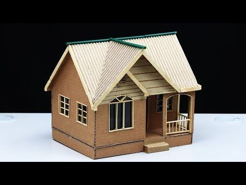 How To Build A Simple House From Cardboard For A School