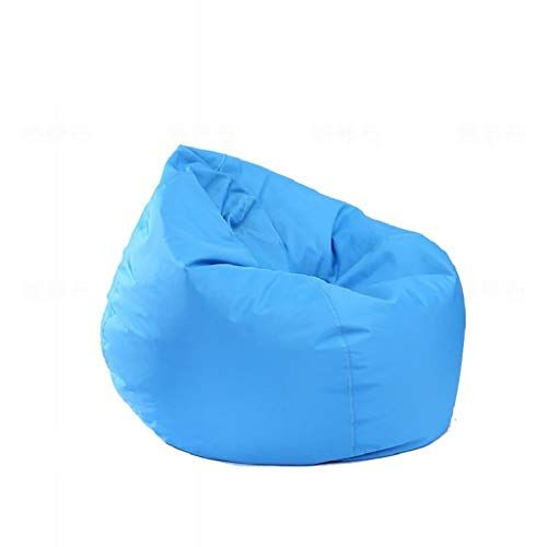 Mlx Lazy Couch Waterproof Bean Bag Drop Shaped Leisure Sofa Indoor And Outdoor Single Sofa Color A Size 60 6 Bean Bag Chair Sofa Bean Bag Chair Bean Bag