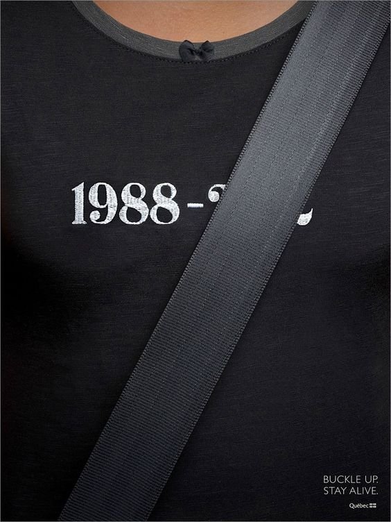 Clever car safety ad