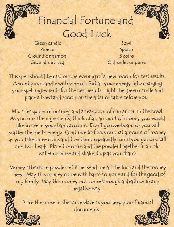 Luck Spells – Witches Of The Craft®