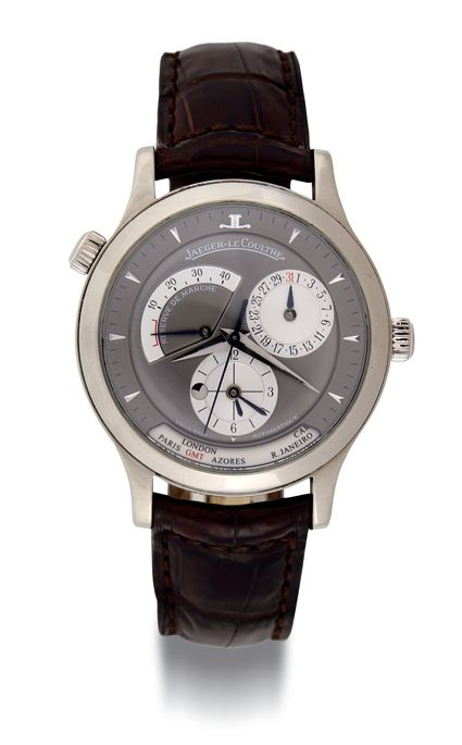 JAEGER-LECOULTRE Master Geographic 142.3.92, circa 2006. www.boule-auctions.com