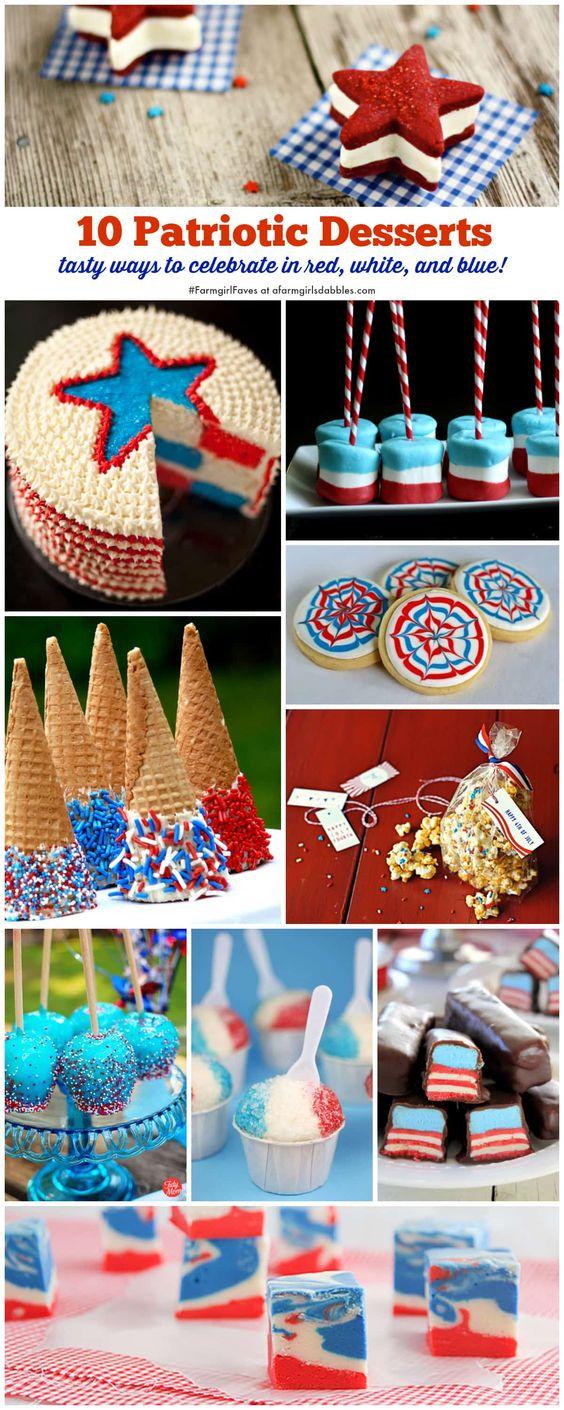 10 Patriotic Desserts {#FarmgirlFaves} • a farmgirl's dabbles