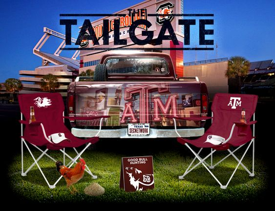 THE TAILGATE: A graphical preview of Texas A&M and South Carolina #football #collegefootball #tailgating: