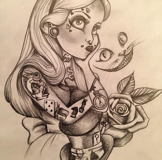 Pin By Sierra Baker On Disney Punk Alice In Wonderland