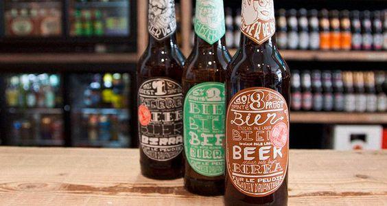 Beer label, Etiquette de bière
