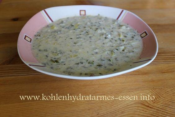 Käsesuppe | kohlenhydratarm | LowCarb