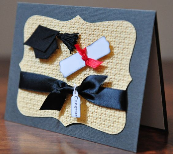 Graduation Greeting Card Congratulations Grad by SnippetsByDesign, $3.50