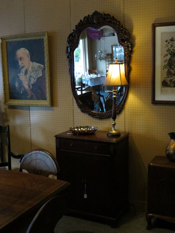 Antique Mirror priced at $425.00