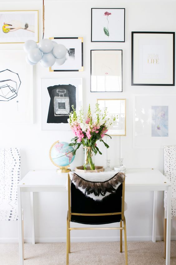 Tour A Small Apartment Brimming with Chic DIY Style