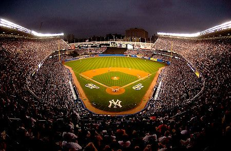 Yankee Stadium. I've been to the old stadium, now I need to check the new one off my list.