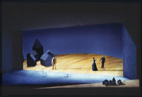 Massenet's Werther, De Nederlandse Opera, director Willy Decker, 1996