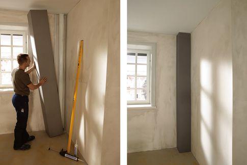 Matériaux isolants, Panneaux de construction, Polystyrène extrudé, XPS, Receveurs de douche - Habillage de tuyauteries, niches & rangements
