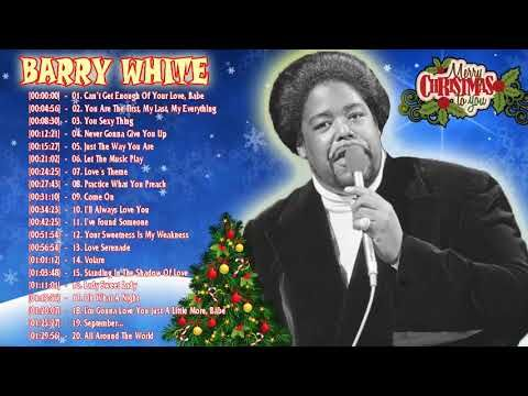 Barry White Christmas Songs Playlist Album Christmas Of Barry