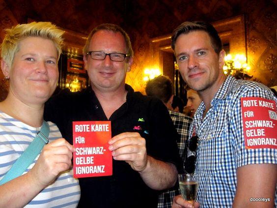 Empfang der SPD-Bürgerschaft im Rathaus zum Christopher Street Day 2012 in Hamburg