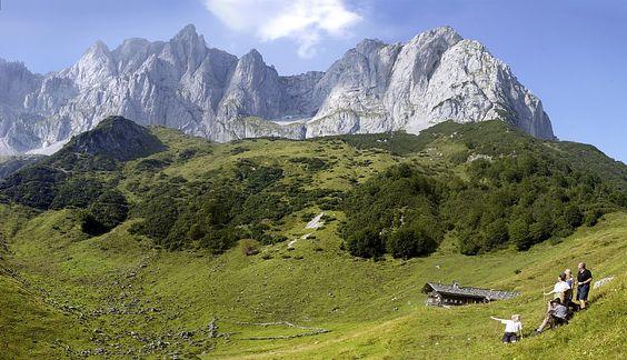 """""""Der Wilde Kaiser"""", image source:  Bio-Wellnesshotel Stanglwirt  - Tirol"""