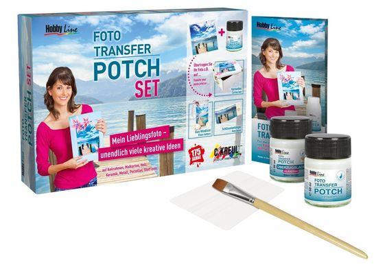 Kreul 49960 - Foto Transfer Potch Set