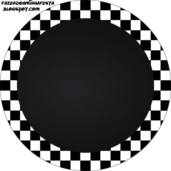 Artesanato Passo A Passo Com Cd ~ Quadriculado Preto e Branco Kit Completo com molduras