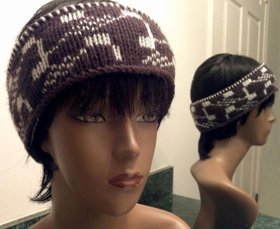 Knitted fair isle headband. Knitting @ Crochet ...
