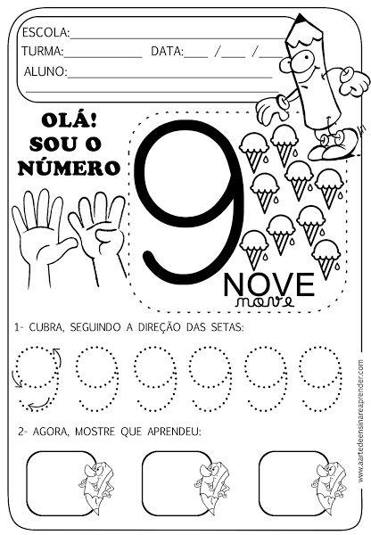 Atividade pronta - Numeral 9