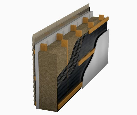 Dense Packed Cellulose Insulation In Double Stud Walls