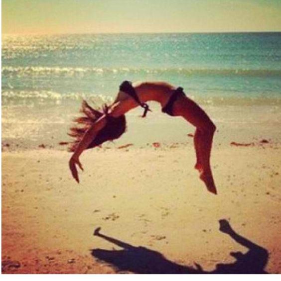how to get your back handspring by yourself